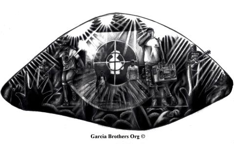 Public Enemy Eye – By Garcia Brothers – 2013 ©